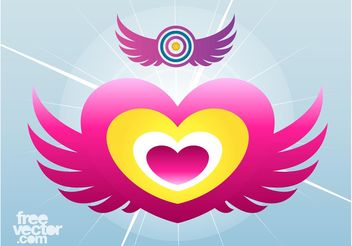 Wings Icons - vector #142071 gratis