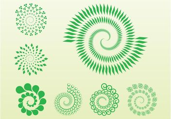 Spiral Icons - vector gratuit #142141