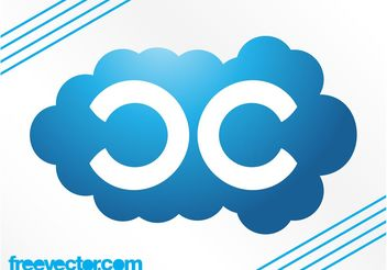 Cloud Logo Template - vector #142531 gratis