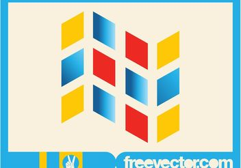 Geometric Logo Template - Free vector #142611