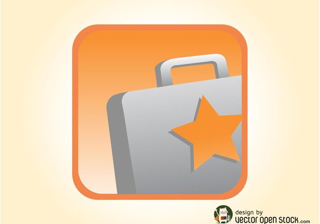 Briefcase Icon Vector - Free vector #142621