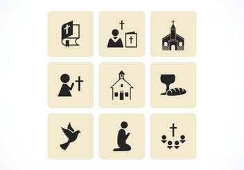 Free Christian Vector Icons - Kostenloses vector #142701