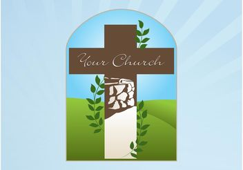 Church Logo - vector #142751 gratis