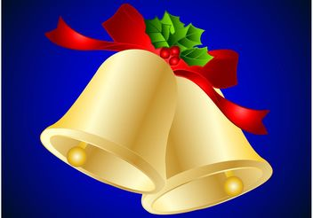 Golden Bells - vector gratuit #142991