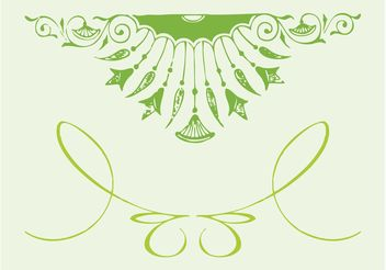 Decoration Ornaments - Free vector #143021