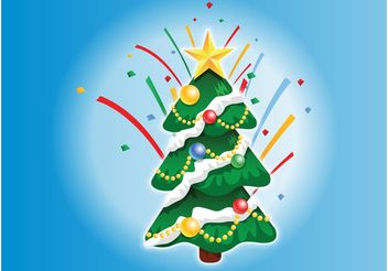 Christmas Tree Graphics - vector #143231 gratis