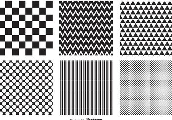 Geometric Pattern Set - vector gratuit #143521