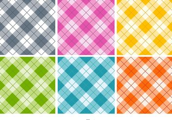 Seamless Textile Patterns - Free vector #143581