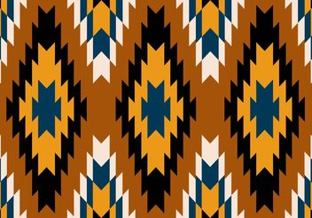 Navajo Aztec Tribal Patterns - Free vector #143691