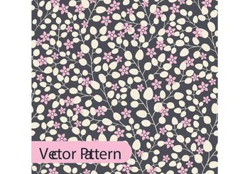 Boho Vector Floral Pattern Design - Free vector #143881