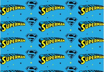 Superman Pattern - Free vector #143961