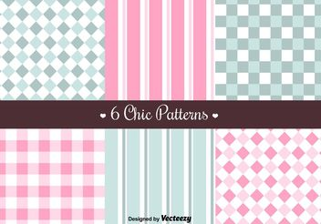 Free Retro Patterns - vector gratuit #144181