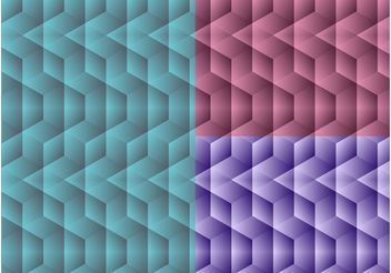 Futuristic Patterns - Free vector #144241