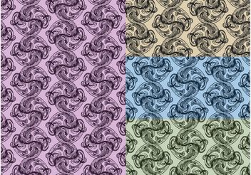 Antique Patterns - Free vector #144251