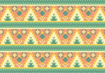 Free Native American Pattern Vector - Free vector #144301