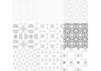 Line Patterns - vector gratuit #144331