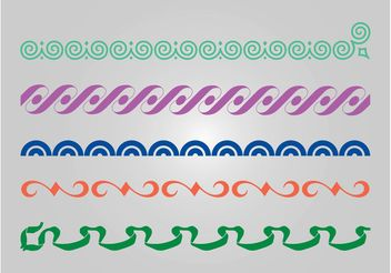 Linear Patterns - vector #144371 gratis