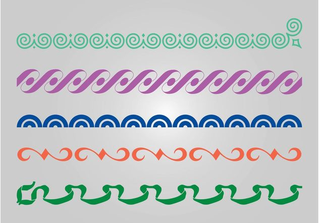 Linear Patterns - Free vector #144371