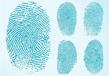 Fingerprints Graphics - Kostenloses vector #144381