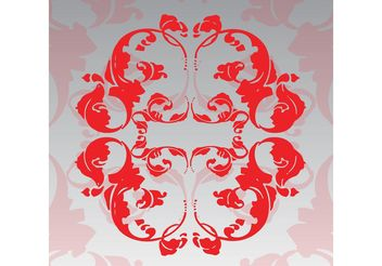 Floral Decoration Vector - Free vector #144571
