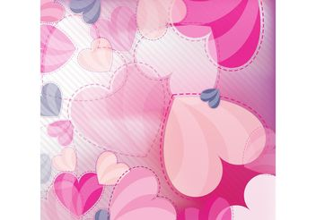 Love Vector Hearts - Free vector #144701