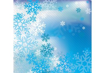 Snow Vector Background - vector gratuit #144711