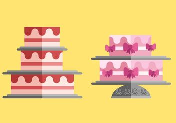 Free Cakes Vector Pack - Free vector #145041
