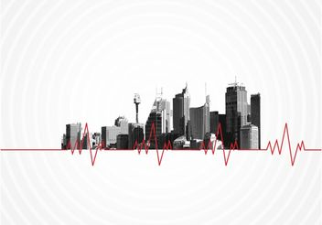 City Pulse - vector gratuit #145161