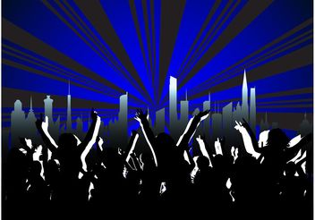 Party Layout - Free vector #145271