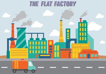 Factory Collection Vector Free - Kostenloses vector #145461