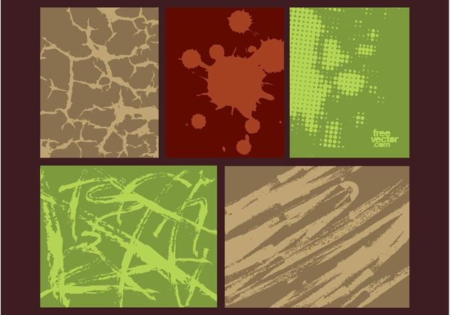 Organic Textures - Free vector #145851