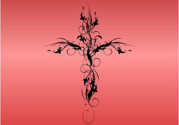 Natural Cross - vector #146091 gratis