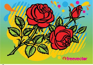 Roses - Free vector #146241