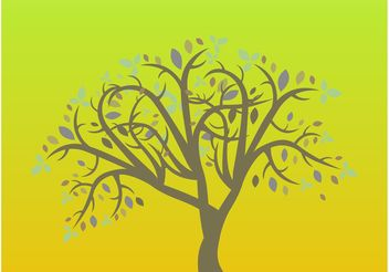 Simple Tree Vector - Free vector #146341