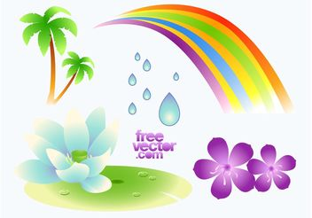 Paradise Graphics - vector gratuit #146351