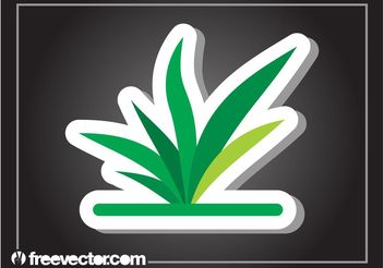 Plant Sticker - Free vector #146451