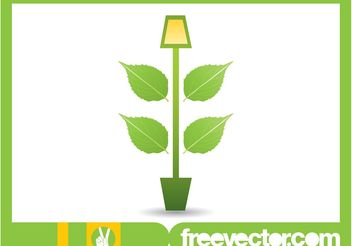 Potted Plant Image - vector gratuit #146481