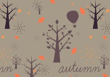 Autumn Vector Pattern - бесплатный vector #146691