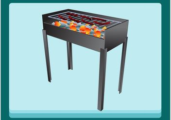 Barbecue - vector gratuit #147631