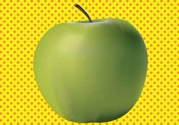 3D Apple - vector gratuit #147811