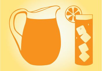 Orange Juice - vector gratuit #147871