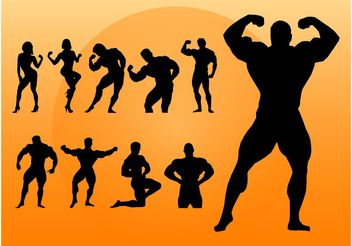 Bodybuilding - vector gratuit #148811