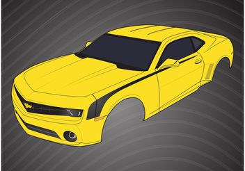 Chevrolet Camaro Parts - vector #148961 gratis