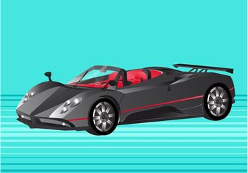 Pagani Zonda Sports Car - vector gratuit #148971