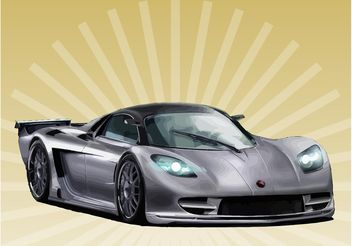Sports Car - vector #149031 gratis