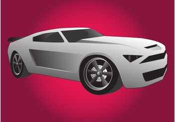 Mustang Illustration - бесплатный vector #149041