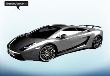 Lamborghini Gallardo Superleggera - Free vector #149101
