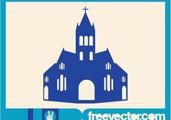Christian Church - vector gratuit #149381