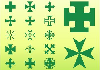 Crosses Graphics - Free vector #149551