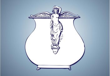 Antique Vase - Free vector #149681
